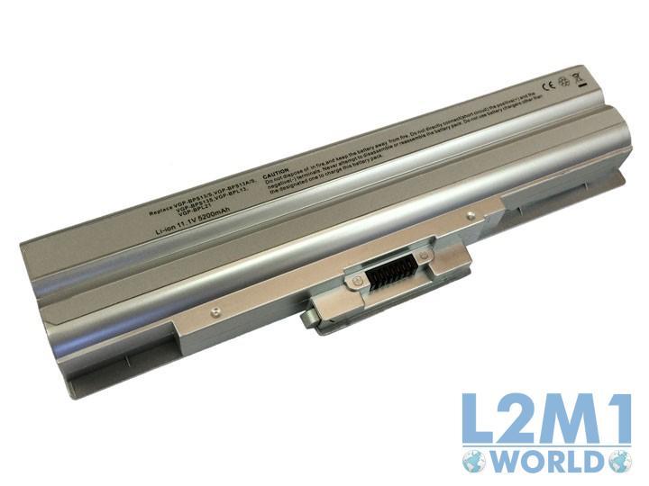 BATERIA para Sony Vaio PCG-81212M Silver
