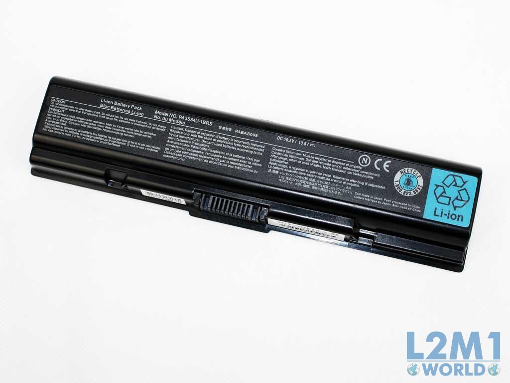 battery 5200mah for toshiba satellite sl l500d 159 l500d. Black Bedroom Furniture Sets. Home Design Ideas