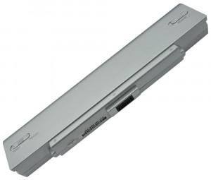 Batterie 6 cellules VGP-BPS9 Gris 5200mAh compatible Sony Vaio