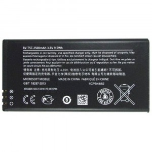 ORIGINAL BATTERY BV-T5C 2500mAh FOR NOKIA MICROSOFT LUMIA 640