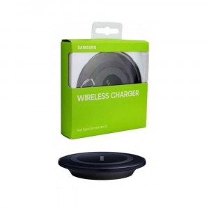 Cargador Original Samsung Wireless para Galaxy S5 G900F Negro