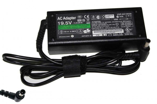AC Power Adapter Charger 90W for SONY VAIO PCG-5T PCG-5T2L PCG-5T2M