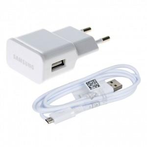 Cargador Original 5V 2A + cable para Samsung Galaxy J1 2015 SM-J100F J100H