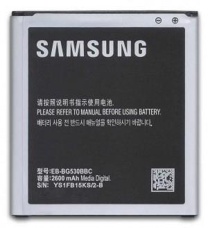 Batería Original EB-BG530BBC 2600mAh para Samsung Galaxy J5 2015, Grand Prime