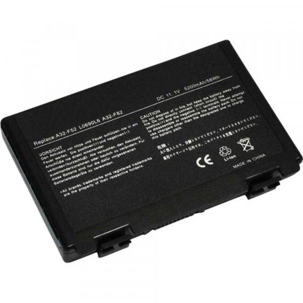 Battery 5200mAh for ASUS K50IJ-C900SCEFWW K50IJ-C900SCELWW5200mAh