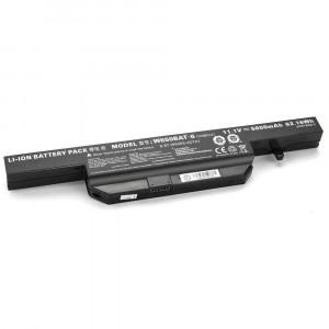 Batería 5200mAh W650BAT-6 para Clevo W655 W655R W655RC W655RC1