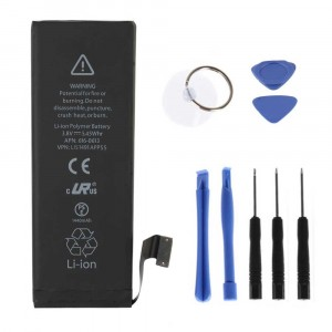 BATTERIA COMPATIBILE 1440mAh PER APPLE IPHONE 5 APN 616-0612 616-0613 + KIT