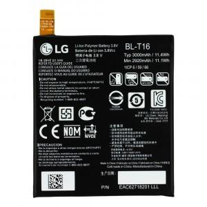 BATTERIA ORIGINALE BL-T16 3000mAh PER LG G FLEX 2 G FLEX2 F510 F510K F510L F510S