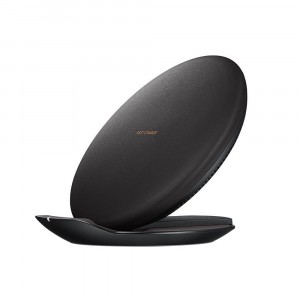 Original Black Charger Samsung Wireless Quick Charge Pad Stand Note 8