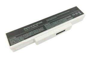 Batterie 6 cellules GWBP10 Blanche 5200mAh compatible Asus MSI Olivetti