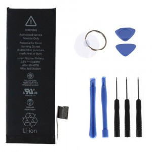 Compatible Battery 1560mAh for Apple iPhone 5S 2013 + Kit