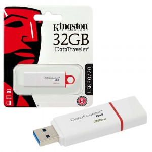 KINGSTON DTIG4/32GB DATATRAVELER G4 USB FLASH DRIVE 32 GB 32GB