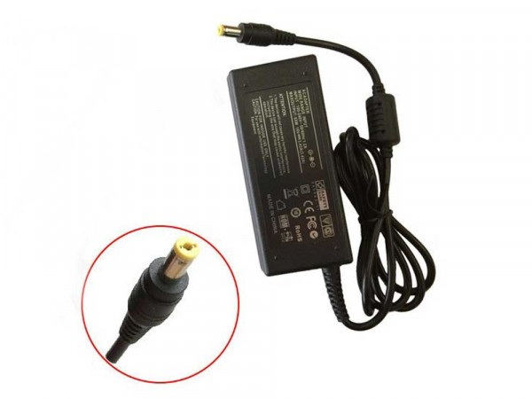AC Power Adapter Charger 65W for GATEWAY NV55C03U NV55C11U NV55C14U NV55C15U