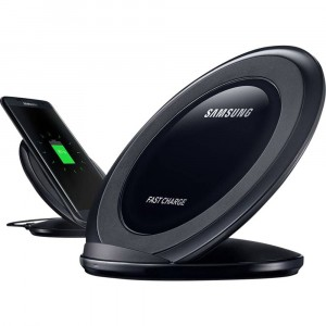 Chargeur Noir Original Samsung Wireless Fast Charge Stand S6 Edge +