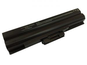 Batería 5200mAh NEGRA para SONY VAIO VGN-SR93DS VGN-SR93JS