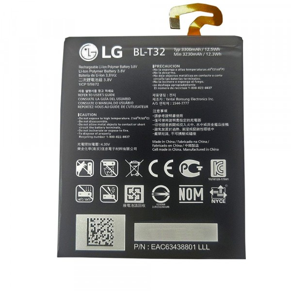 Original Battery BL-T32 3300mAh for LG G6
