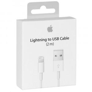 Câble Lightning USB 2m Apple Original A1510 MD819ZM/A pour iPhone 5s A1530