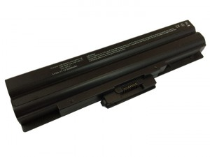 Batería 5200mAh NEGRA para SONY VAIO VGN-NS51B VGN-NS51B-L