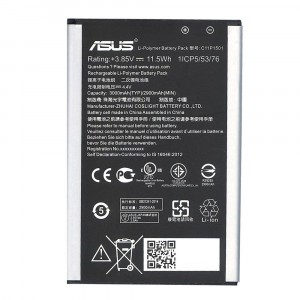 Original Battery C11P1501 3000mAh for Asus ZenFone Selfie Asus ZenFone 2 Laser