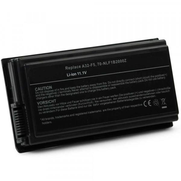 Battery 6 cells A32-F5 5200mAh compatible Asus5200mAh