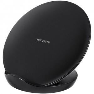 Chargeur Noir Original Samsung Wireless Charge Rapide Stand S9+