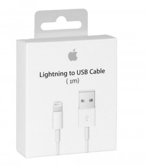 Cable Lightning USB 1m Apple Original A1480 MD818ZM/A para iPhone 7 Plus A1786