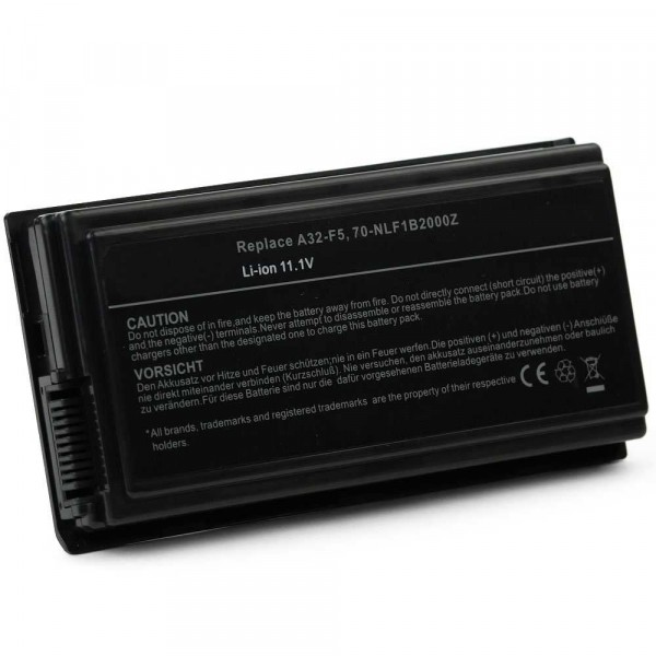 Batterie 5200mAh pour ASUS F5SF F5SL F5SR F5SV F5V F5VI F5VL F5Z5200mAh