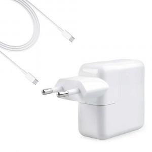 """Alimentatore Caricabatteria USB-C A1719 87W per Macbook Pro 15"""" A1990 2018"""