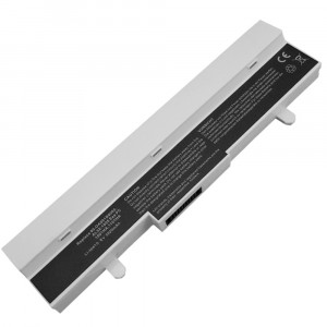 Battery 5200mAh WHITE for ASUS Eee PC 1005PE-BLK002M 1005PE-BLK007S