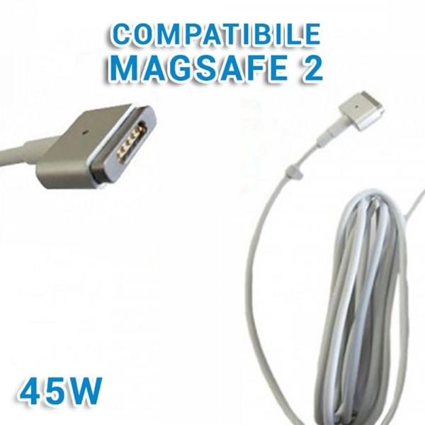 """Alimentatore Caricabatteria A1436 45W per Macbook Air 13"""" A1466 2012 2013 2014"""