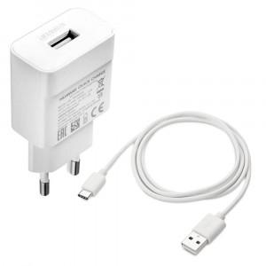 Chargeur Original Rapide + cable Type C pour Huawei P20 Pro